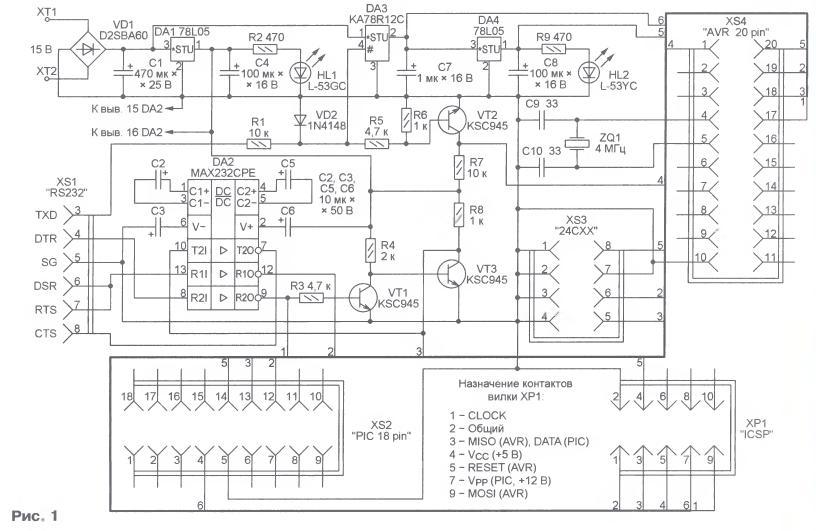 Устройства на микроконтроллерах avr своими руками